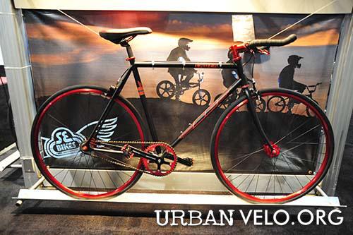 SE Racing Lager Single-Speed/Fixed Gear Bike (Chrome) (55cm)