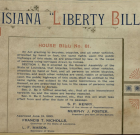 The Louisiana Liberty Bill of 1890