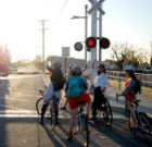 LA Bicycle Commuters Form 'Bike Trains' For Safety